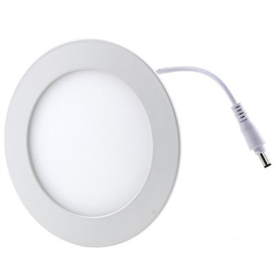 BRELONG 9W SMD 3528 LED Panel LightIndoor Lights<br>BRELONG 9W SMD 3528 LED Panel Light<br><br>Brand: BRELONG<br>Features: Round Shape, Wiring<br>LED Number : 45 x SMD 3528<br>Luminous Flux: 1000Lm<br>Optional Light Color: Warm White<br>Package Contents: 1 x BRELONG 9W SMD 3528 LED Panel Light, 1 x Power Adapter<br>Package size (L x W x H): 24.5 x 18.5 x 3 cm / 9.63 x 7.27 x 1.18 inches<br>Package weight: 0.400 kg<br>Product size (L x W x H): 14.5 x 14.5 x 2 cm / 5.70 x 5.70 x 0.79 inches<br>Product weight: 0.320 kg<br>Sheathing Material: Aluminum<br>Type: Panel Lights, Ceiling Lights<br>Voltage (V): AC 90-265V<br>Wattage (W): 9<br>Wavelength / CCT: 3000-3500K