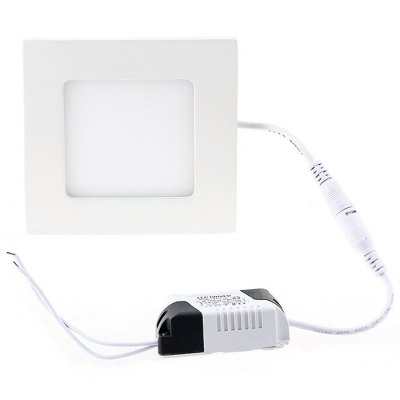 BRELONG SMD 3528 6W LED Panel LightIndoor Lights<br>BRELONG SMD 3528 6W LED Panel Light<br><br>Brand: BRELONG<br>Features: Square Shape, Wiring<br>LED Number : 30 x SMD 3528<br>Luminous Flux: 800Lm<br>Optional Light Color: White,Warm White<br>Package Contents: 1 x BRELONG 6W SMD 3528 LED Panel Light, 1 x Power Adapter<br>Package size (L x W x H): 18.80 x 13.30 x 3.00 cm / 7.4 x 5.24 x 1.18 inches<br>Package weight: 0.330 kg<br>Product size (L x W x H): 12.00 x 12.00 x 2.00 cm / 4.72 x 4.72 x 0.79 inches<br>Sheathing Material: Aluminum<br>Type: Panel Lights, Ceiling Lights<br>Voltage (V): AC 90-265V<br>Wattage (W): 6<br>Wavelength / CCT: 3000-3500K,6000-6500K