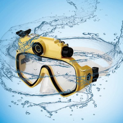 Diving Mask Glasses Underwater 720P HD Camera 2 in 1Swimming<br>Diving Mask Glasses Underwater 720P HD Camera 2 in 1<br><br>Color: Blue,Yellow<br>Lens Color: Transparent<br>Material (Frames): PC<br>Material (Lens): Tempered Glass<br>Package Contents: 1 x Diving Glasses Mask, 1 x Camera, 1 x USB Cable, 1 x Head Strap, 1 x English User Manual<br>Package size (L x W x H): 21.00 x 15.00 x 7.00 cm / 8.27 x 5.91 x 2.76 inches<br>Package weight: 0.3500 kg<br>Product size (L x W x H): 19.00 x 13.00 x 5.00 cm / 7.48 x 5.12 x 1.97 inches<br>Product weight: 0.2500 kg