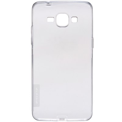 Nillkin Transparent TPU Phone Protective Back Cover Case with Ultrathin Design for Samsung Galaxy Grand Prime G5308WSamsung Cases/Covers<br>Nillkin Transparent TPU Phone Protective Back Cover Case with Ultrathin Design for Samsung Galaxy Grand Prime G5308W<br><br>Color: White,Brown,Gray<br>Features: Back Cover<br>For: Samsung Mobile Phone<br>Material: TPU<br>Package Contents: 1 x Case<br>Package size (L x W x H): 18.2 x 10.1 x 1.5 cm / 7.15 x 3.97 x 0.59 inches<br>Package weight: 0.070 kg<br>Product size (L x W x H): 14.5 x 7.4 x 0.9 cm / 5.70 x 2.91 x 0.35 inches<br>Product weight: 0.014 kg<br>Style: Transparent