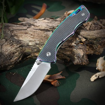 Sanrenmu 7095 LUC - GI Folding Knife for ClimbingPocket Knives and Folding Knives<br>Sanrenmu 7095 LUC - GI Folding Knife for Climbing<br><br>Blade Edge Type: Fine<br>Blade Length: 6.8 cm / 2.68 inches<br>Blade Width : 2.3 cm / 0.91 inches<br>Brand: Sanrenmu<br>Color: Cadetblue,Claret,Flaxen<br>Fold Length: 9.5 cm / 3.74 inches<br>For: Climbing, Daily Use, Hiking, Home use, Camping, Adventure<br>Material: Stainless Steel<br>Package Contents: 1 x Sanrenmu 7095 LUC - GI Foldable Knife<br>Package size (L x W x H): 17.20 x 7.70 x 2.40 cm / 6.77 x 3.03 x 0.94 inches<br>Package weight: 0.148 kg<br>Product size (L x W x H): 9.50 x 2.30 x 1.50 cm / 3.74 x 0.91 x 0.59 inches<br>Product weight: 0.079 kg<br>Type: Multitools<br>Unfold Length: 16.0 cm / 6.30 inches