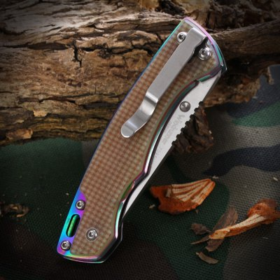 Sanrenmu 7095 LUC - GV Folding Knife for ClimbingPocket Knives and Folding Knives<br>Sanrenmu 7095 LUC - GV Folding Knife for Climbing<br><br>Blade Edge Type: Fine<br>Blade Length: 6.8 cm / 2.68 inches<br>Blade Width : 2.3 cm / 0.91 inches<br>Brand: Sanrenmu<br>Color: Cadetblue,Claret,Flaxen<br>Fold Length: 9.5 cm / 3.74 inches<br>For: Climbing, Daily Use, Hiking, Home use, Camping, Adventure<br>Material: Stainless Steel<br>Package Contents: 1 x Sanrenmu 7095 LUC - GV Foldable Knife<br>Package size (L x W x H): 17.20 x 7.70 x 2.40 cm / 6.77 x 3.03 x 0.94 inches<br>Package weight: 0.148 kg<br>Product size (L x W x H): 9.50 x 2.30 x 1.50 cm / 3.74 x 0.91 x 0.59 inches<br>Product weight: 0.079 kg<br>Type: Multitools<br>Unfold Length: 16.0 cm / 6.30 inches
