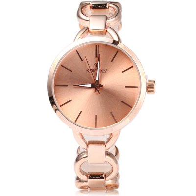 Kingsky 5156 Ladies Japan Quartz WatchWomens Watches<br>Kingsky 5156 Ladies Japan Quartz Watch<br><br>Available Color: Black,Gold,Rose Gold,Silver<br>Band material: Stainless Steel<br>Brand: Kingsky<br>Case material: Stainless Steel<br>Clasp type: Sheet folding clasp<br>Display type: Analog<br>Movement type: Quartz watch<br>Package Contents: 1 x Kingsky 5156 Watch<br>Package size (L x W x H): 20.00 x 4.50 x 1.60 cm / 7.87 x 1.77 x 0.63 inches<br>Package weight: 0.0970 kg<br>Product size (L x W x H): 19.00 x 3.50 x 0.60 cm / 7.48 x 1.38 x 0.24 inches<br>Product weight: 0.0470 kg<br>Shape of the dial: Round<br>Special features: IP plating<br>Style: Fashion&amp;Casual, Bracelet<br>The band width: 1.4 cm / 0.55 inches<br>The dial diameter: 3.5 cm / 1.38 inches<br>The dial thickness: 0.6 cm / 0.24 inches<br>Watches categories: Female table<br>Water resistance : 30 meters
