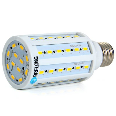 BRELONG E27 15W SMD 5730 LED Corn BulbCorn Bulbs<br>BRELONG E27 15W SMD 5730 LED Corn Bulb<br><br>Available Light Color: Warm White,Cool White<br>Brand: BRELONG<br>Bulb Base Type: E27<br>CCT/Wavelength: 3000-3500K,6000-7000K<br>Emitter Types: SMD 5730<br>Features: Long Life Expectancy, Low Power Consumption<br>Function: Studio and Exhibition Lighting, Commercial Lighting, Home Lighting<br>Luminous Flux: 1500Lm<br>Output Power: 15W<br>Package Contents: 1 x BRELONG E27 15W SMD 5730 LED Corn Bulb<br>Package size (L x W x H): 13.5 x 6.5 x 6.5 cm / 5.31 x 2.55 x 2.55 inches<br>Package weight: 0.130 kg<br>Product size (L x W x H): 12 x 4.8 x 4.8 cm / 4.72 x 1.89 x 1.89 inches<br>Product weight: 0.075 kg<br>Total Emitters: 60<br>Type: Corn Bulbs<br>Voltage (V): AC 220-240
