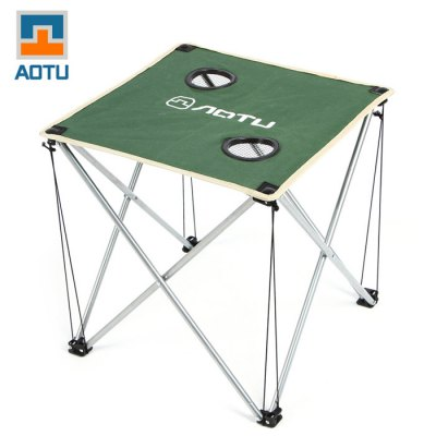 AOTU Thickened Folding Desk for Outdoor Barbecue and CampingOther Camping Gadgets<br>AOTU Thickened Folding Desk for Outdoor Barbecue and Camping<br><br>Color: Red,Blue,Green<br>Material: Oxford Fabric, Stainless Steel<br>Package Contents: 1 x AOTU Foldable Desk, 1 x Storage Bag<br>Package weight: 1.13 kg<br>Product weight: 1.060 kg<br>Type: Tents &amp; Tent Accessories