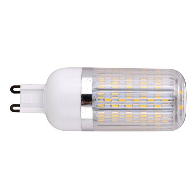 G9 18W LED Corn BulbCorn Bulbs<br>G9 18W LED Corn Bulb<br><br>Available Light Color: White,Warm White<br>CCT/Wavelength: 6000-6500K,2800-3200K<br>Emitter Types: SMD 3014<br>Features: Long Life Expectancy, Low Power Consumption<br>Function: Studio and Exhibition Lighting, Commercial Lighting, Home Lighting<br>Holder: G9<br>Lifespan: 30000 hours<br>Luminous Flux: 1800Lm<br>Output Power: 18W<br>Package Contents: 1 x G9 LED Corn Bulb<br>Package size (L x W x H): 10.5 x 4.1 x 4.1 cm / 4.13 x 1.61 x 1.61 inches<br>Package weight: 0.105 kg<br>Product size (L x W x H): 9.5 x 3.1 x 3.1 cm / 3.73 x 1.22 x 1.22 inches<br>Product weight: 0.032 kg<br>Rated Luminous Flux: 2200Lm<br>Sheathing Material: PC<br>Total Emitters: 120<br>Type: Corn Bulbs<br>Voltage (V): AC 85-265/50-60Hz