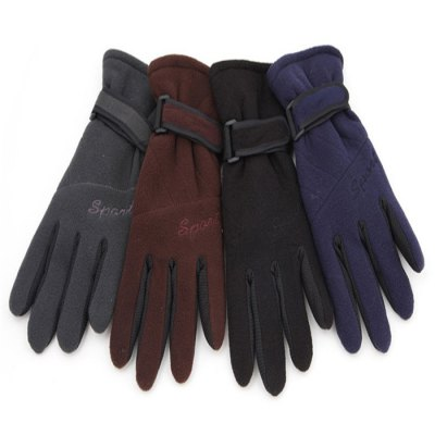 AOTU Unisex Winter Cycling Gloves Warm KeepingCycling Gloves<br>AOTU Unisex Winter Cycling Gloves Warm Keeping<br><br>Brand: Auto<br>Color: Black,Navy,Coffee,Deep Gray<br>Glove Length: 27cm<br>Material: Polar fleece<br>Package Contents: 2 x Gloves<br>Package size (L x W x H): 28.0 x 12.0 x 3.0 cm / 11.00 x 4.72 x 1.18 inches<br>Package weight: 0.130 kg<br>Palm Girth: 12cm<br>Product weight: 0.090 kg<br>Size: One Size<br>Style Design: Full Finger