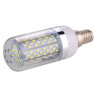 E14 18W LED Corn Light LampLED Bi-pin Lights<br>E14 18W LED Corn Light Lamp<br><br>Available Light Color: White,Warm White<br>CCT/Wavelength: 6000-6500K,2800-3200K<br>Emitter Types: SMD 3014<br>Features: Long Life Expectancy, Low Power Consumption<br>Function: Studio and Exhibition Lighting, Commercial Lighting, Home Lighting<br>Holder: E14<br>Lifespan: 30000 hours<br>Luminous Flux: 1800Lm<br>Output Power: 18W<br>Package Contents: 1 x E14 LED Corn Bulb<br>Package size (L x W x H): 10.5 x 4.1 x 4.1 cm / 4.13 x 1.61 x 1.61 inches<br>Package weight: 0.105 kg<br>Product size (L x W x H): 9.5 x 3.1 x 3.1 cm / 3.73 x 1.22 x 1.22 inches<br>Product weight: 0.032 kg<br>Rated Luminous Flux: 2200Lm<br>Sheathing Material: PC<br>Total Emitters: 120<br>Type: Corn Bulbs<br>Voltage (V): AC 85-265/50-60Hz