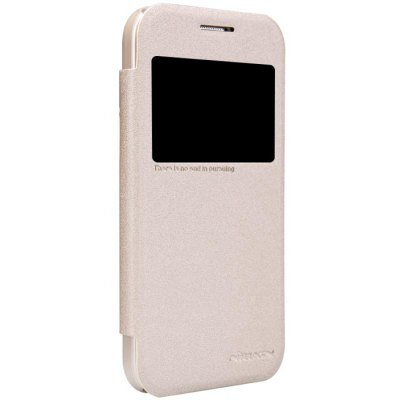 Nillkin View Window Design Phone Protective Cover Case with PU Leather and PC Material for Samsung Galaxy Core Prime G360