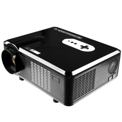 Excelvan CL720D LED Projector with Digital TV SlotProjectors<br>Excelvan CL720D LED Projector with Digital TV Slot<br><br>3D: Yes<br>Aspect ratio: 16:9 / 4:3<br>Bluetooth: Unsupport<br>Brand: EXCELVAN<br>Brightness: 3000 Lumens<br>Built-in Speaker: Yes<br>Color: Black,White<br>Compatible with: TV<br>Contrast Ratio: 2000:1<br>Display type: LCD<br>DVB-T Supported: Yes<br>External Subtitle Supported: No<br>Function: DVB-T, 3D, Speaker<br>Image Scale: 16:9,4:3<br>Image Size: 60 - 100 inch<br>Interface: TV, AV<br>Lamp: LED<br>Lamp Power: 150W<br>Material: Glass, Plastic<br>Model: CL720D<br>Native Resolution: 1280 x 800<br>Other Features: Built-in Speaker (5W x 2)<br>Package Contents: 1 x Projector, 1 x Remote Controller, 1 x Adapter, 1 x AV Cable, 1 x VGA Cable, 1 x Fuse, 1 x Lens Cloth, 1 x English User Manual<br>Package size (L x W x H): 38.50 x 18.20 x 33.80 cm / 15.16 x 7.17 x 13.31 inches<br>Package weight: 3.9150 kg<br>Power Supply: 90-240V/50-60Hz<br>Product size (L x W x H): 32.00 x 25.50 x 11.50 cm / 12.6 x 10.04 x 4.53 inches<br>Product weight: 3.3000 kg<br>Projection Distance: 1.2 - 3.6 m<br>Resolution Support: 1080P<br>Throw Ration: 72inch - 2.08m, 84inch - 2.37m, 100inch - 3m, 120inch - 3.38m