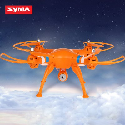 Newest Syma X8C Venture New Package 4 Channel 2.4G RC Quadcopter with HD Camera 6 Axis 3D Flip Fly UFO - US Plug