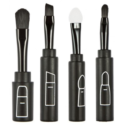 Set of 4 Brushes Cosmetic Tools