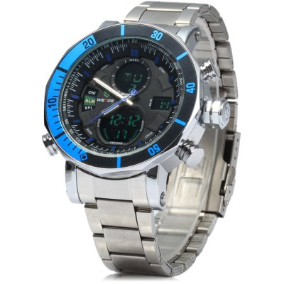 Weide Japan Double Movt LED Sports Watch