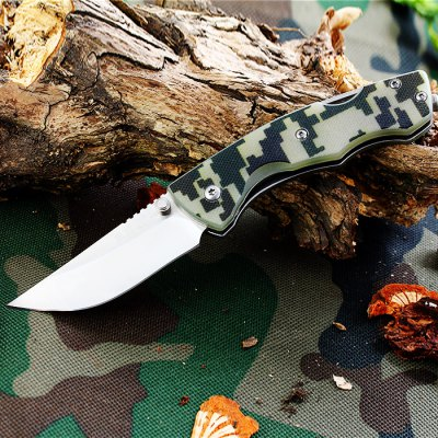 Sanrenmu 7095 SUC - GX - T4 Folding Knife with Bottle Opener and Belt Cutting
