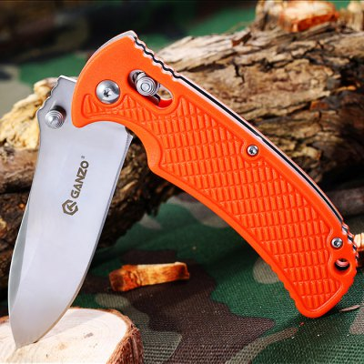 Ganzo G726M - OR Foldable Knife with Durable Sheath
