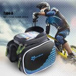 Roswheel Cycling Bike Bicycle Front Frame Handlebar Pouch Mobile Phone Holder