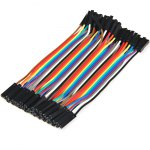 10cm 40PCS DuPont Female to Female Jumper Wire