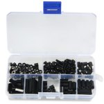 M3 Nylon Spacer Hex Screws - 160PCS