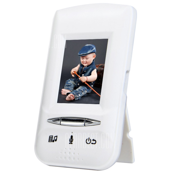 e808 plus 2 0 inch lcd baby monitor reviews best audio video gadgets. Black Bedroom Furniture Sets. Home Design Ideas