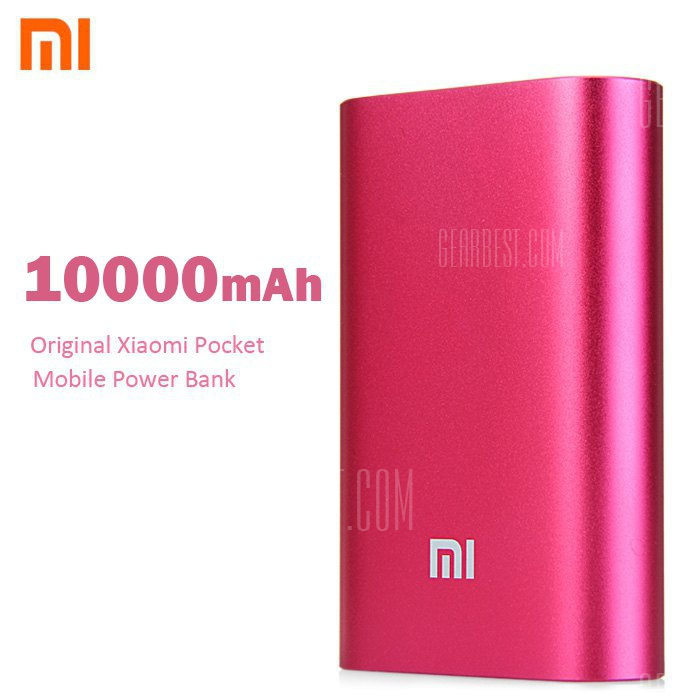 Quinn learns xiaomi pocket 10000mah mobile power bank 16GB and