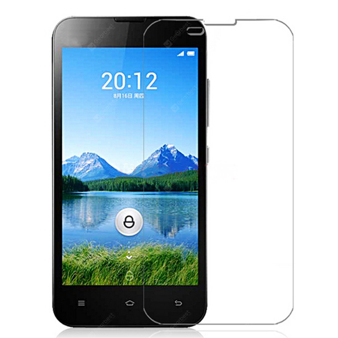 ASLING Tempered Glass Screen Protector with 9H High Hardness and 2.5D Arc Edge for Xiaomi 2 143263301
