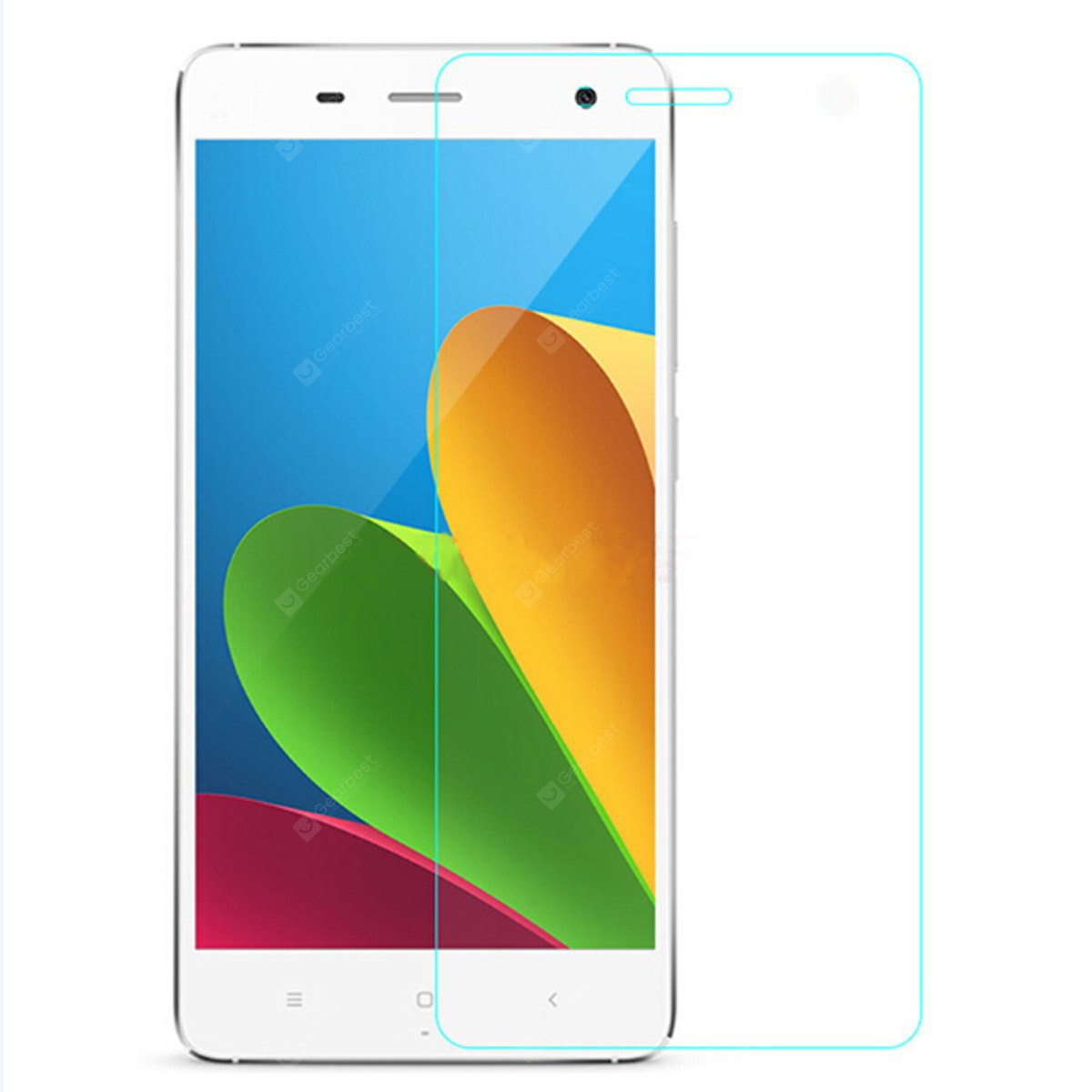 ASLING Tempered Glass Screen Protector with 9H High Hardness and 2.5D Arc Edge for Xiaomi 4i 143282801