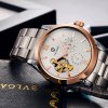 Tevise Men Tourbillon Automatic Mechanical Watch with Alloy Band photo