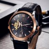 Tevise 8502 Men Tourbillon Design Automatic Mechanical Watch with Leather Band photo