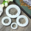 4Pcs Round Wave Edge Cake Mold deal
