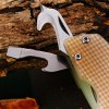 Sanrenmu 7095 SUC - GV - T4 Folding Knife with Bottle Opener and Belt Cutting deal