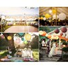 8 inch Colorful DIY Paper Lanterns Decoration deal