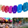 Buy Colorful Smiling Face DIY Paper Flower String COLORFUL