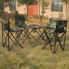 AOTU 5 in 1 Outdoor Folding Table and Chair Set deal