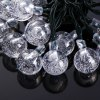 6m 30 LED Solar String Light - Bubble Shape for sale