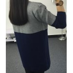 cheap Casual Long Sleeves Color Block Cardigan For Women