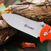 Ganzo G726M - OR Foldable Knife with Durable Sheath deal
