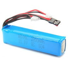 WSX - S04 11.1V 8C 2200mAh Lipo Battery Fitting for Transmitter