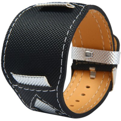 22mm Canvas Leather Band