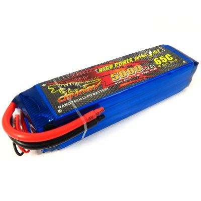 Extra Spare DINOGY 5000mAh 14.8V 4S 65C Li-po Battery Fitting for FPV DIY Parts