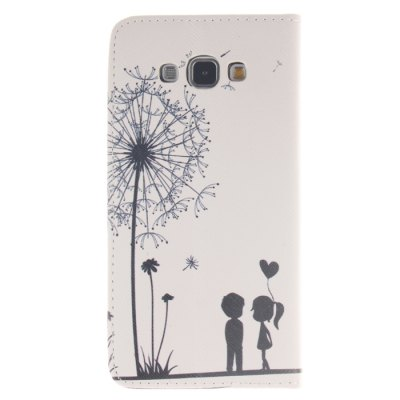 Гаджет   Dandelion Pattern PU Leather Smart Fit Wallet Folio Case Kickstand Design with Credit Card Slot for Samsung Galaxy A8 Samsung Cases/Covers