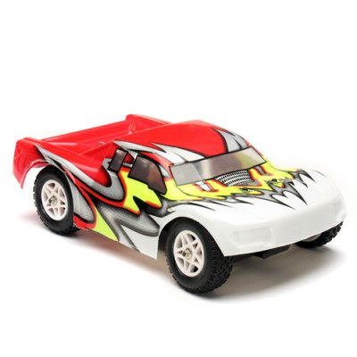 YiKong Short Course Truck TROO - E18SC BL - V1RC Cars<br>YiKong Short Course Truck TROO - E18SC BL - V1<br><br>Type: RC Cars<br>Features: Radio Control<br>Functions: Forward/backward, Turn left/right<br>Material: Metal, Plastic, Electronic components<br>Remote Control: 2.4GHz Wireless Remote Control<br>Control Distance: More than 100m<br>Transmitter Power: 4 x 1.5V AA (not included)<br>Charging Time: 2 hours<br>Racing Time: About 12mins<br>Package Weight  : 1.05 kg<br>Package Size (L x W x H) : 30 x 20 x 19.5 cm / 11.79 x 7.86 x 7.66 inches<br>Package Contents: 1 x RC Car, 1 x Transmitter, 1 x EU Charger, 1 x 7.2V 800mAh NI-MH Battery, 1 x 20A ESC, 1 x RC2430 Brushless Motor