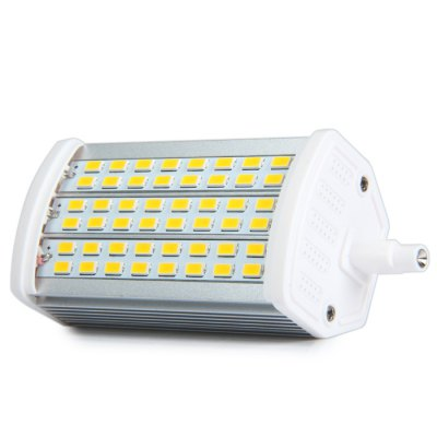 SZFC R7S 14W Dimmable LED Corn BulbLED Light Bulbs<br>SZFC R7S 14W Dimmable LED Corn Bulb<br><br>Brand : SZFC<br>Base Type: R7S<br>Type: Horizontal Plug Lamp<br>Output Power: 14W<br>Emitter Types: SMD 5730<br>Total Emitters: 48<br>Theoretical Lumen(s): 1080Lm<br>Actual Lumen(s): 960Lm<br>CCT/Wavelength: 6000K, 3000K<br>Voltage (V): AC 85-265/50-60Hz, AC 110, AC 220<br>Features: Low Power Consumption, Non-dimmable, Long Life Expectancy, Dimmable, Energy Saving<br>Function: Home Lighting, Commercial Lighting, Studio and Exhibition Lighting<br>Available Light Color: White, Warm White<br>Sheathing Material: Aluminum<br>Product Weight: 0.109 kg<br>Package Weight: 0.131 kg<br>Product Size (L x W x H): 11.8 x 2.5 x 2.5 cm / 4.64 x 0.98 x 0.98 inches<br>Package Size (L x W x H): 14 x 6 x 5 cm / 5.50 x 2.36 x 1.97 inches<br>Package Contents: 1 x R7S Dimming LED Horizontal Plug Lamp