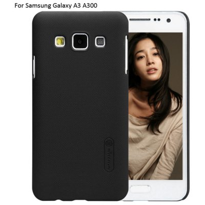 Nillkin PC Phone Protective Back Cover Case with Frosted Anti-skid Design for Samsung Galaxy A3 A300