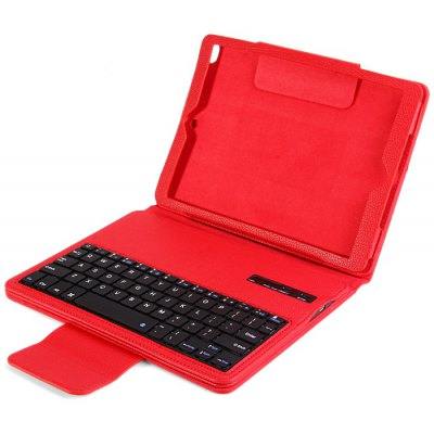 External Bluetooth 3.0 Keyboard + Artificial Leather Protective Case for iPad Air 2