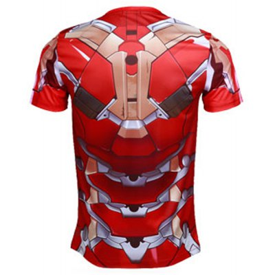 Modish Skinny Round Neck 3D Iron Man Mark43 Pattern Short Sleeve Quick-Dry Superhero T-Shirt For MenMens Short Sleeve Tees<br>Modish Skinny Round Neck 3D Iron Man Mark43 Pattern Short Sleeve Quick-Dry Superhero T-Shirt For Men<br><br>Material: Polyester, Lycra<br>Sleeve Length: Short<br>Collar: Round Neck<br>Style: Fashion<br>Weight: 0.35KG<br>Package Contents: 1 x T-Shirt<br>Embellishment: 3D Print<br>Pattern Type: Others