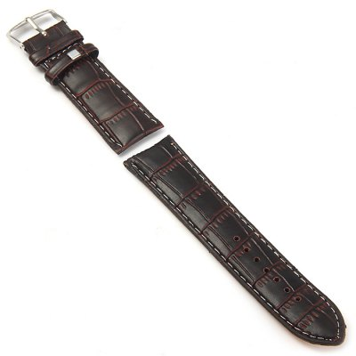 Гаджет   24mm Pin Buckle Leather Band Watch Accessories