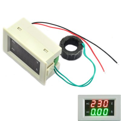 AC 300V 100A Voltage Current Meter