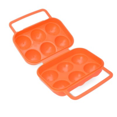 Egg Storage Container with 6 Grooves