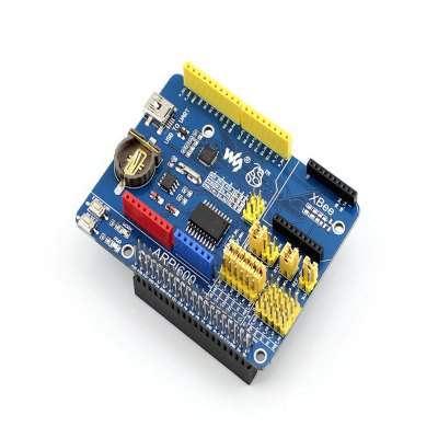 Waveshare ARPI600 Expansion BoardBoards &amp; Shields<br>Waveshare ARPI600 Expansion Board<br><br>Type: Expansion board<br>Product Weight: 0.047 kg<br>Package Weight: 0.118 kg<br>Product Size(L x W x H): 8.5 x 6.3 x 0.5 cm / 3.34 x 2.48 x 0.20 inches<br>Package Size(L x W x H): 15 x 11 x 1 cm / 5.90 x 4.32 x 0.39 inches<br>Package Contents: 1 x ARPI600, 1 x USB Type A Plug to Mini-B Plug Cable, 2 x RPi Screw