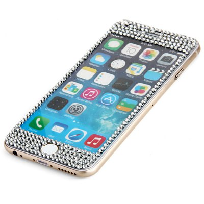 Tempered Glass Screen Protector with 9H High Hardness Bling Diamond for iPhone 6IPhone Screen Protectors<br>Tempered Glass Screen Protector with 9H High Hardness Bling Diamond for iPhone 6<br><br>For: Cell Phone<br>Compatible Phone Brand: Apple iPhone<br>Compatibility: iPhone 6<br>Type: Protective Film, Screen Protector<br>Features: Anti fingerprint, High-definition, High Sensitivity, Anti scratch, Protect Screen, Anti-oil<br>Material: Tempered Glass<br>Surface Hardness: 9H<br>Product weight: 0.010 kg<br>Package weight: 0.090 kg<br>Product size(L x W x H): 6.2 x 13.3 x 0.1 cm / 2.44 x 5.23 x 0.04 inches<br>Package size (L x W x H): 8.5 x 16.5 x 0.7 cm / 3.34 x 6.48 x 0.28 inches<br>Package Contents: 1 x Tempered Glass Screen Protector, 1 x Dry Wipe, 1 x Wet Wipe, 1 x Guide Sticker